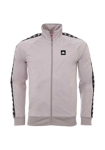 Kappa Trainingsjacke »AUTHENTIC FRANKO«, mit hochwertigem Jaquard Logoband an den &Auml;rmeln<br /> kaufen