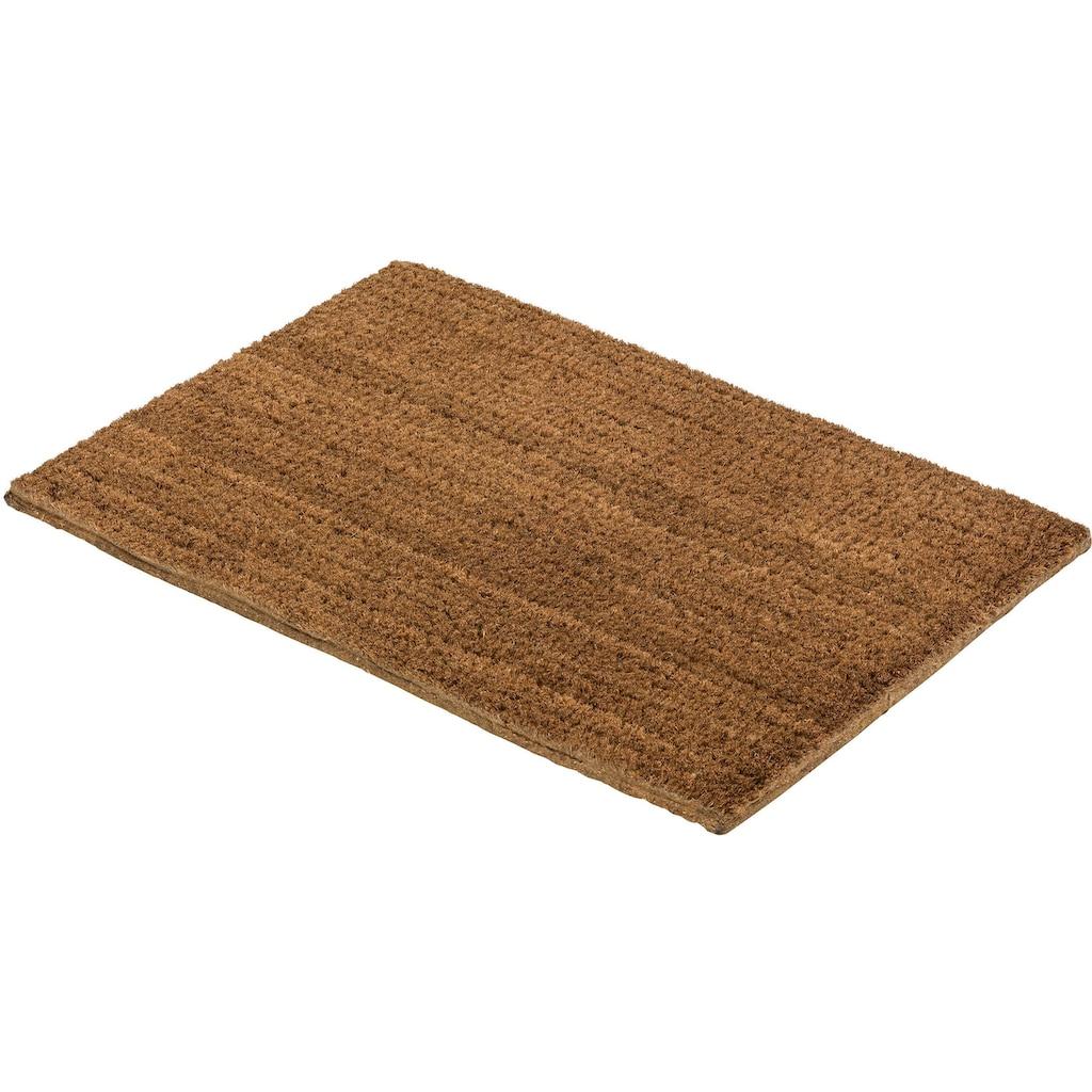 ASTRA Fußmatte »Coco Eco 555«, rechteckig, 16 mm Höhe, Fussabstreifer, Fussabtreter, Schmutzfangläufer, Schmutzfangmatte, Schmutzfangteppich, Schmutzmatte, Türmatte, Türvorleger, Kokosmatte, In -und Outdoor geeignet