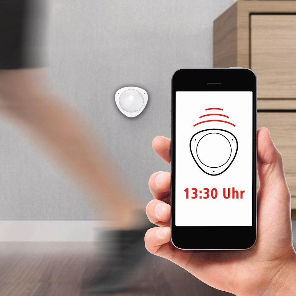 Hama Smarter Bewegungssensor »Präsenzmelder, mit App«, WiFi Bewegungsmelder zur Lampen Steuerung, Alarm Funktion