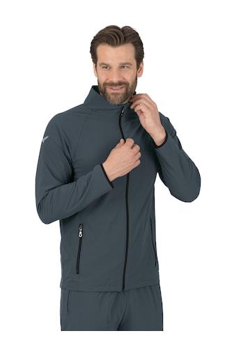 Trigema Raglan-Jacke mit Netzinnenfutter kaufen