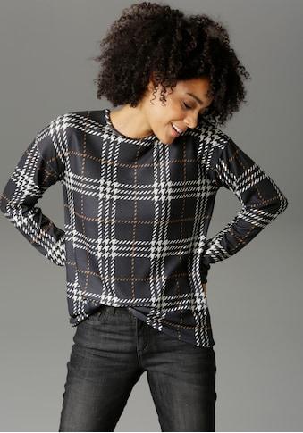 Aniston CASUAL Sweatshirt, im Karo Dessin kaufen