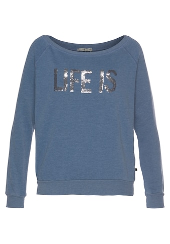 LTB Sweater »NATIRA«, mit Pailletten bestickt kaufen