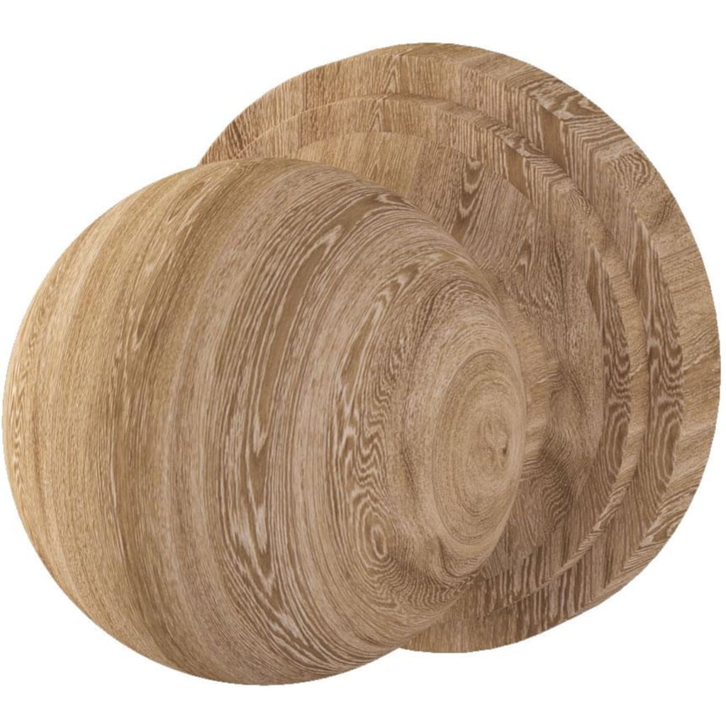 andas Sitzbank »Mude«, aus massiver Eiche
