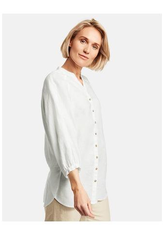 GERRY WEBER Bluse 3/4 Arm »Lange 3/4 Arm Bluse aus reinem Leinen« kaufen