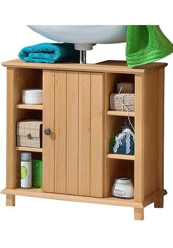 Home affaire Waschbeckenunterschrank »Vili«, Landhaus-Look, mit 6 Fächern kaufen