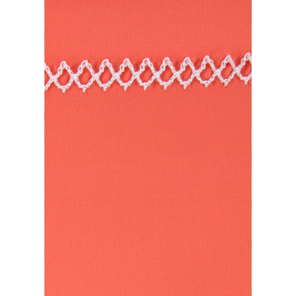 Sunseeker Bikini-Hose »Dainty«, mit Häkelkante und seitlichen Bindebändern