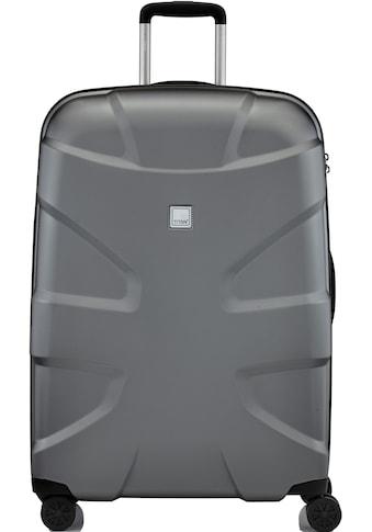 TITAN® Hartschalen-Trolley »X2«, 4 Rollen, mit Shark Skin Oberfläche und 4 Rollen kaufen