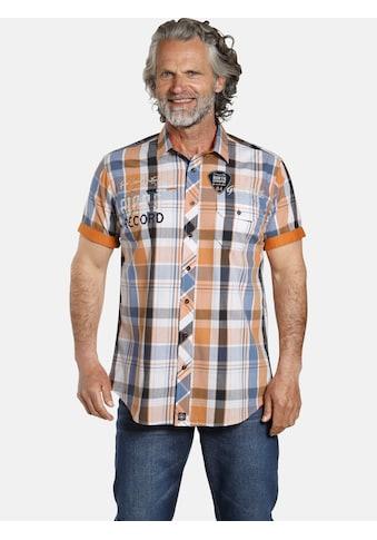Jan Vanderstorm Karohemd »ASKELL«, mit viel Bewegungsfreiheit kaufen