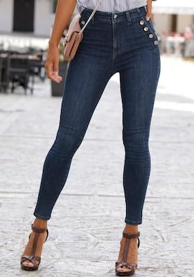 nachhaltig produzierte High-Waist Jeans