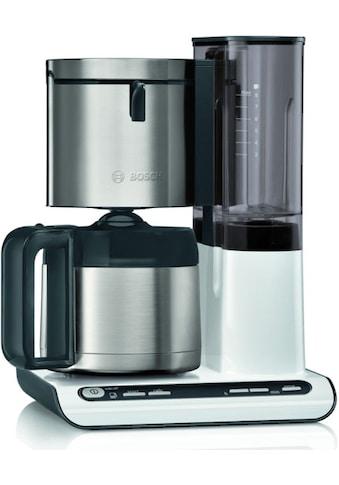 BOSCH Filterkaffeemaschine TKA8A681 Styline mit Thermokanne, Papierfilter 1x4 kaufen