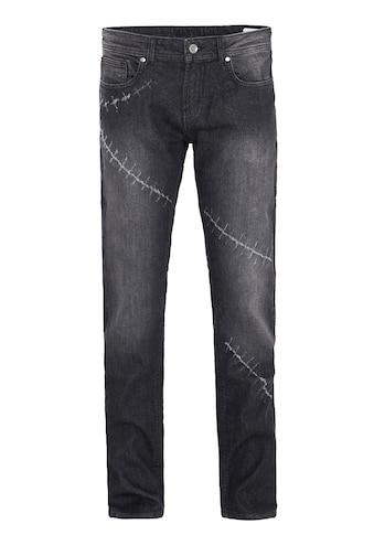 Way of Glory Destroyed-Jeans »Carlos«, mit Destroyed Details kaufen