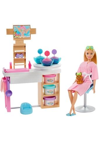 Barbie Anziehpuppe »Wellness Gesichtsmasken«, mit Knete kaufen