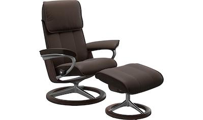 Stressless® Relaxsessel »Admiral«, mit Hocker, mit Signature Base, Größe M & L, Gestell Wenge kaufen