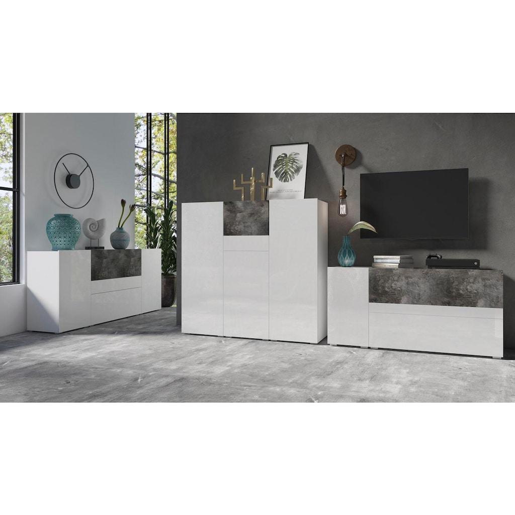 TRENDMANUFAKTUR Highboard »Power«