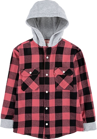 Levi's Kidswear Karohemd, mit Kapuze kaufen