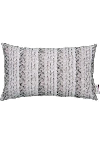 TOM TAILOR Kissenhülle »Printed Stitch« kaufen