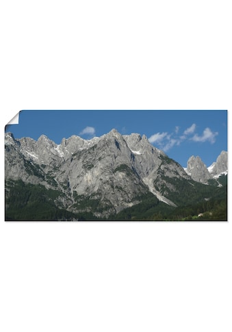 Artland Wandbild »Tennengebirge«, Berge, (1 St.), in vielen Größen & Produktarten... kaufen