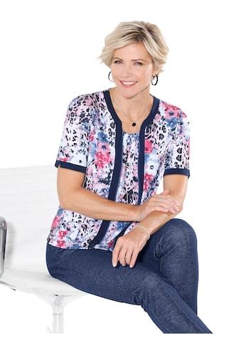 Classic Shirt in angesagter 2 - in - 1 - Optik kaufen