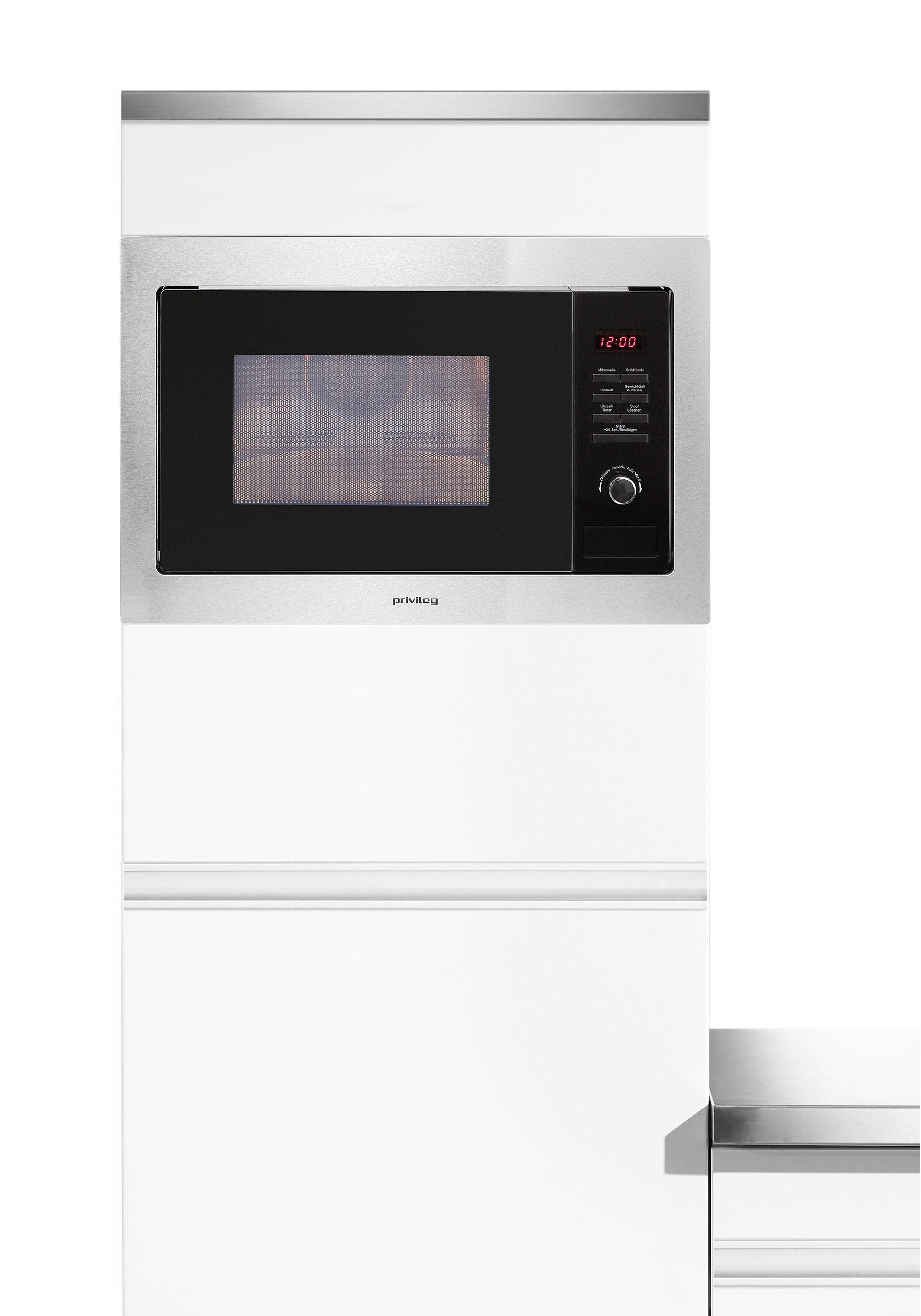 *Privileg Einbau-Mikrowelle »AC 925 BVE«, Mikrowelle, 900 W*