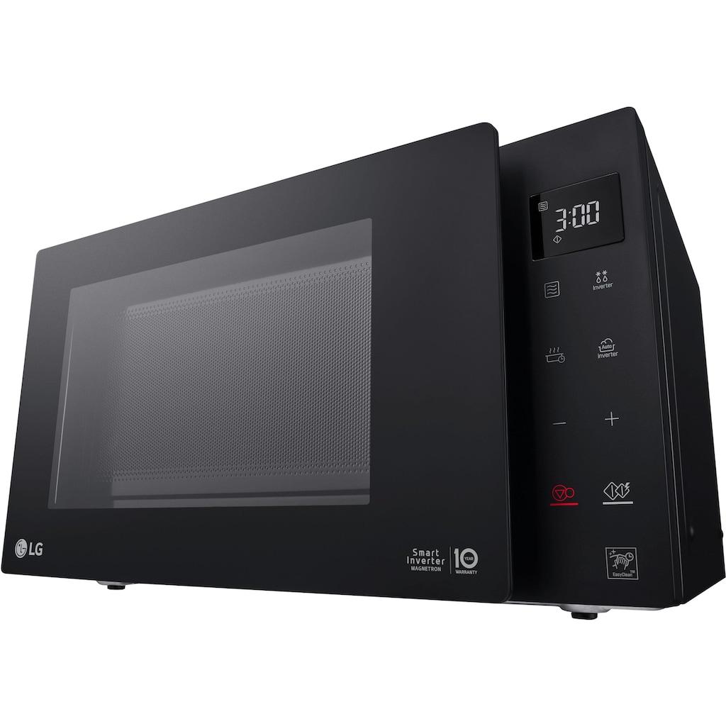 LG Mikrowelle »MS 2336 GIB, Neo Chef«, Mikrowelle, 1000 W, Smart Inverter Technologie, echte Glasfront