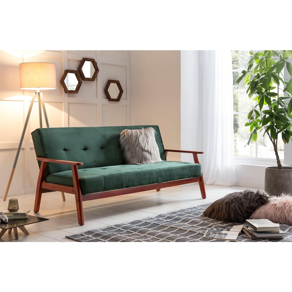 SalesFever Schlafsofa, mit Relaxfunktion