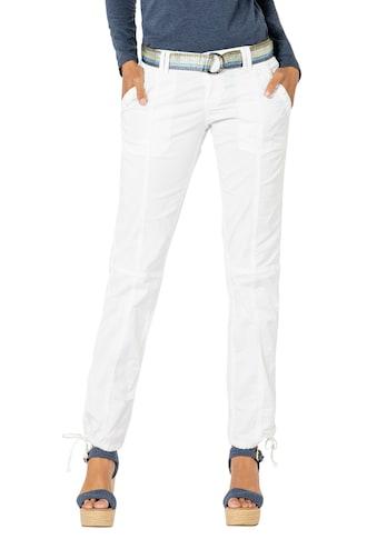 Fresh Made 5-Pocket-Hose, mit glänzendem Gürtel kaufen