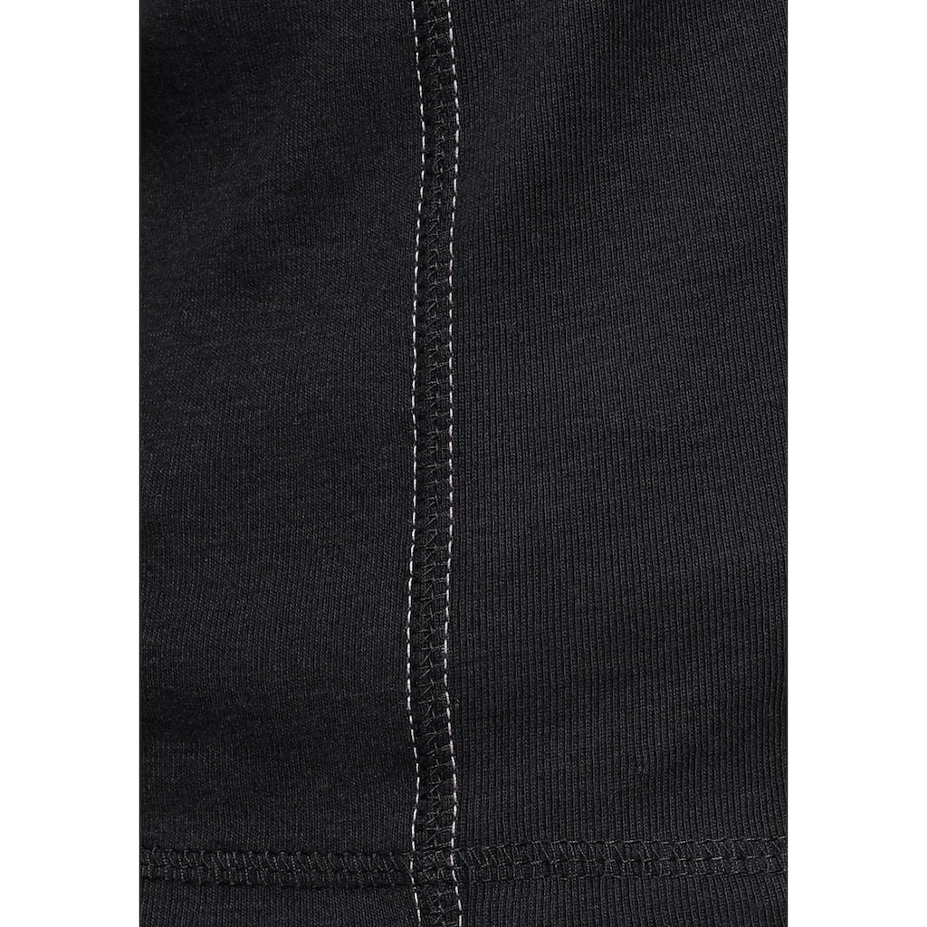 KangaROOS Kapuzenshirt, Kapuze kontrastfarben gefüttert