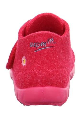 Superfit Hausschuh »HAPPY WMS Schuhweiten Mess System«, mit Stickerei kaufen