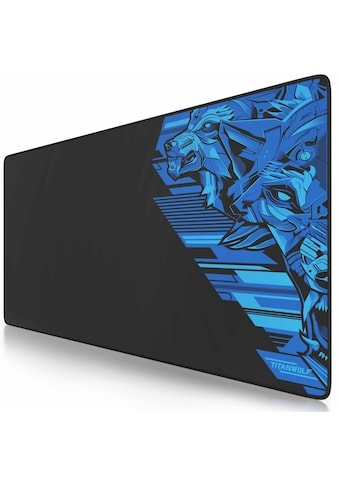 Titanwolf XXL Speed Gaming Mauspad aus glattem Stoffgewebe kaufen