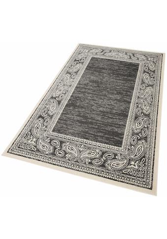 my home Teppich »Maite«, rechteckig, 8 mm Höhe, mit Bordüre, Wohnzimmer kaufen