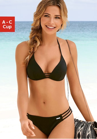 Bruno Banani Triangel-Bikini, mit Zierbändern kaufen