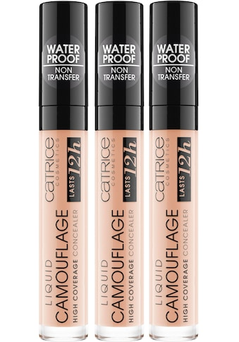 "Catrice Concealer ""Liquid Camouflage High Coverage"", 3er Pack kaufen"