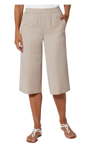 Casual Looks Hose in bequemer Culotte - Form kaufen
