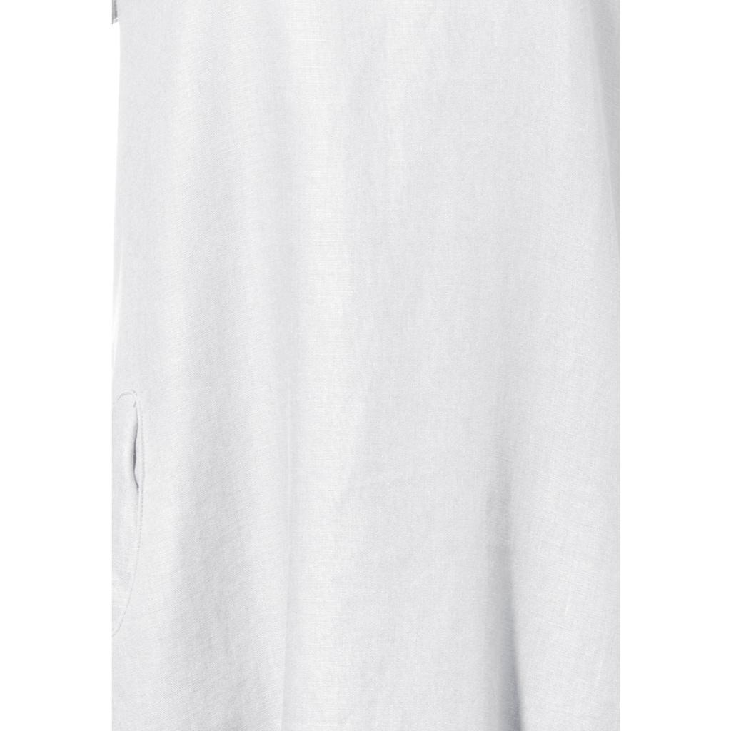 Anna Aura A-Linien-Kleid »mit 3/4-Arm«, und Perlmuttknopf