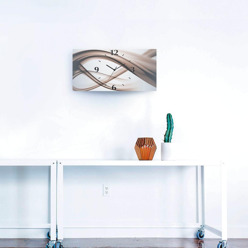 Artland Wanduhr »Abstrakte Kompositiom«