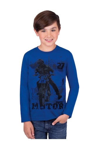 Trigema Print-Shirt, mit Motorrad-Druckmotiv kaufen
