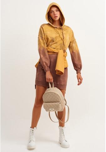 OXXO Minikleid, mit modischem Batik Muster kaufen