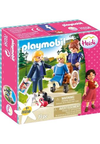 Playmobil® Konstruktions-Spielset »Clara mit Vater und Fräulein Rottenmeier (70258),... kaufen