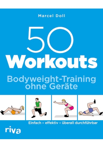 Buch »50 Workouts - Bodyweight-Training ohne Geräte / Marcel Doll« kaufen