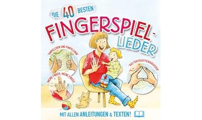 Musik-CD »40 BESTEN FINGERSPIEL-LIED / Blume,K./König,C.« kaufen