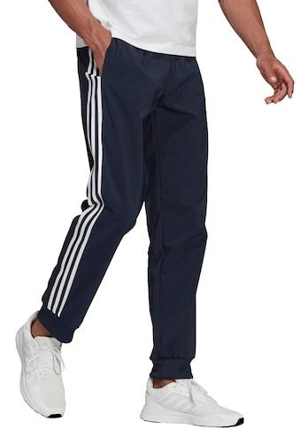 adidas Performance Trainingshose »ESSENTIALS TAPERED CUFF 3 STRIPES PANTS« kaufen