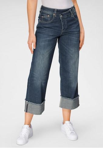Herrlicher High-waist-Jeans »MÄZE«, im Crossover-Look kaufen