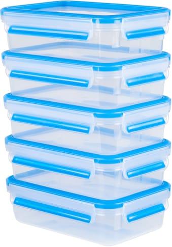 Emsa Frischhaltedose »Emsa Clip & Close«, (Set, 10 tlg., 5 Vorratsdosen mit jeweils einem Deckel), 100% dicht, Made in Germany kaufen