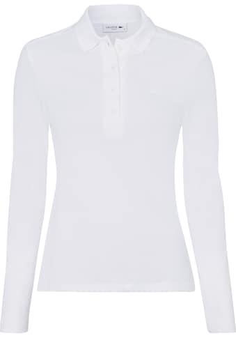 Lacoste Langarm-Poloshirt, im klassischen Stil kaufen