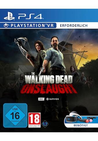Spiel »The Walking Dead Onslaught (VR)«, PlayStation 4 kaufen