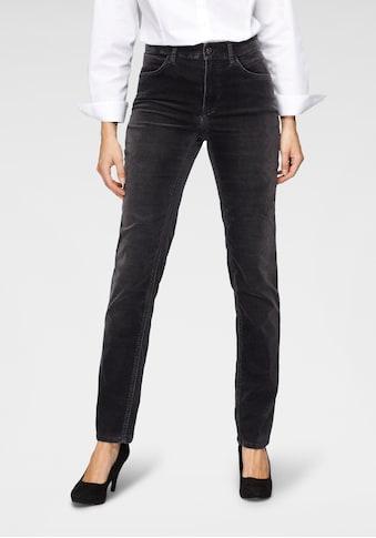 MAC 5-Pocket-Jeans »Melanie Velvet«, Klassischer Jeansschnitt in gewaschener Samt-Qualität kaufen