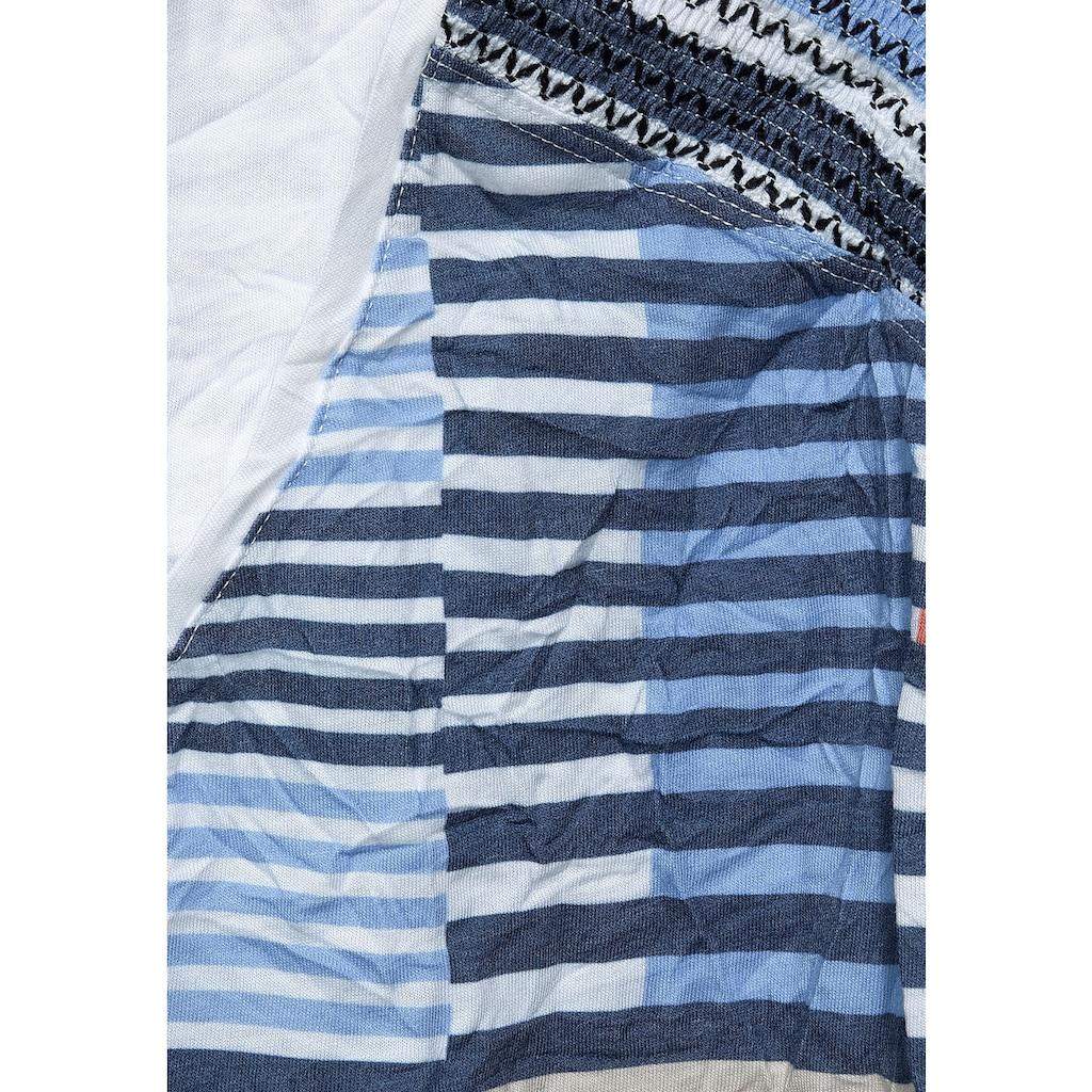 Cecil V-Shirt, in Crash-Optik