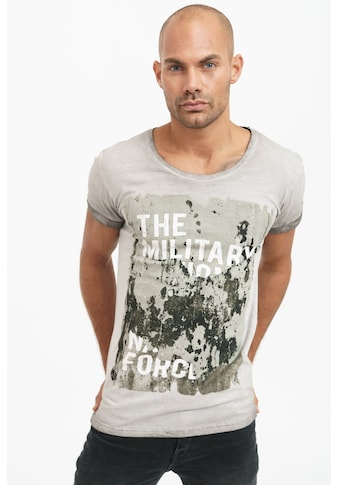 trueprodigy T-Shirt »Dane«, mit großem Frontprint im Used-Look kaufen