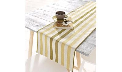 Tischläufer, »Streifen«, HOSSNER  -  HOMECOLLECTION (1 - tlg.) kaufen