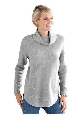 Classic Basics Pullover mit abgerundetem Saum kaufen